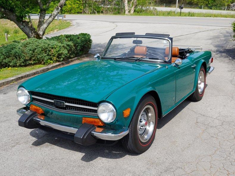 1974 Triumph TR6 5