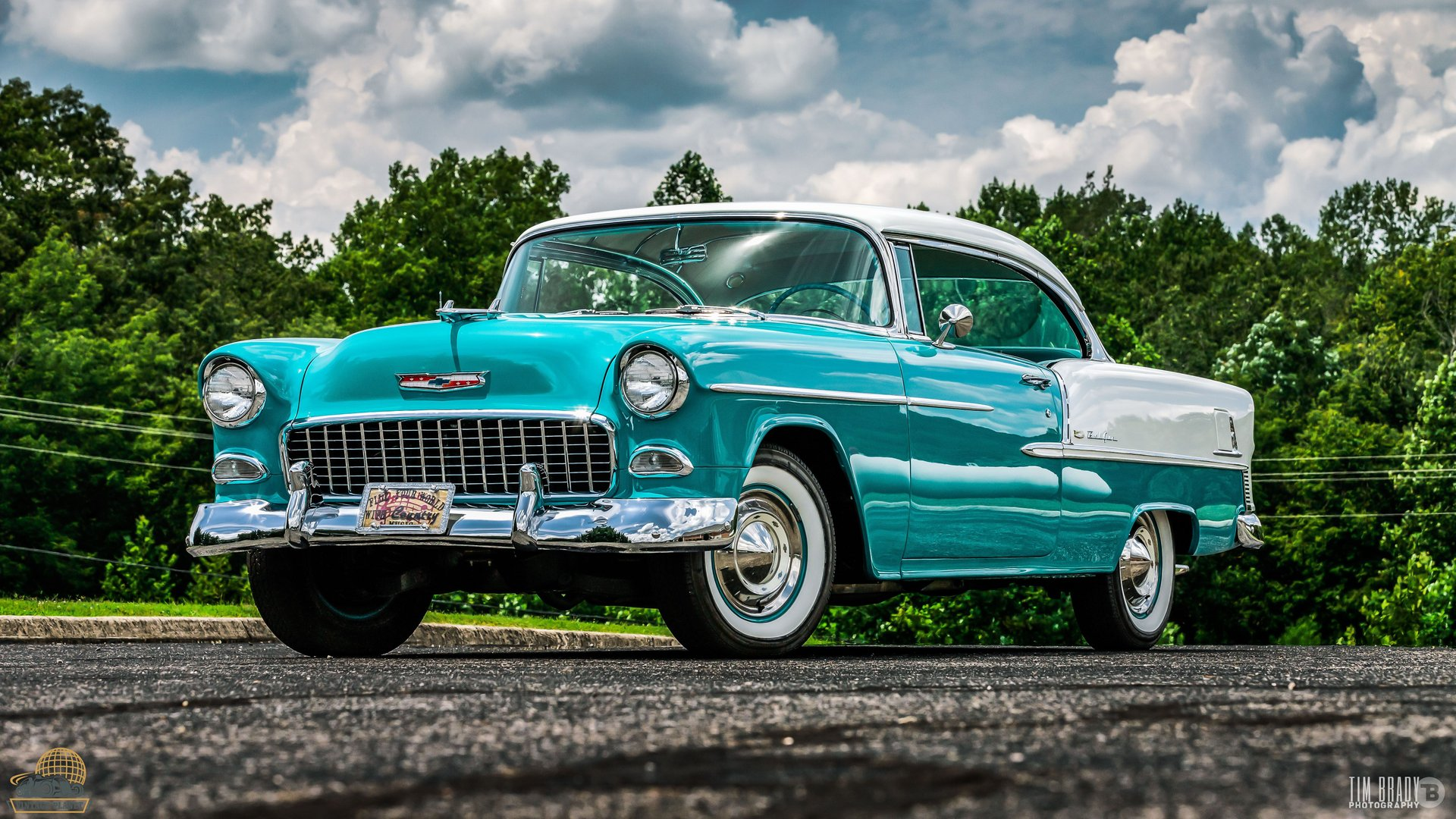 1955 chevrolet bel air george jones