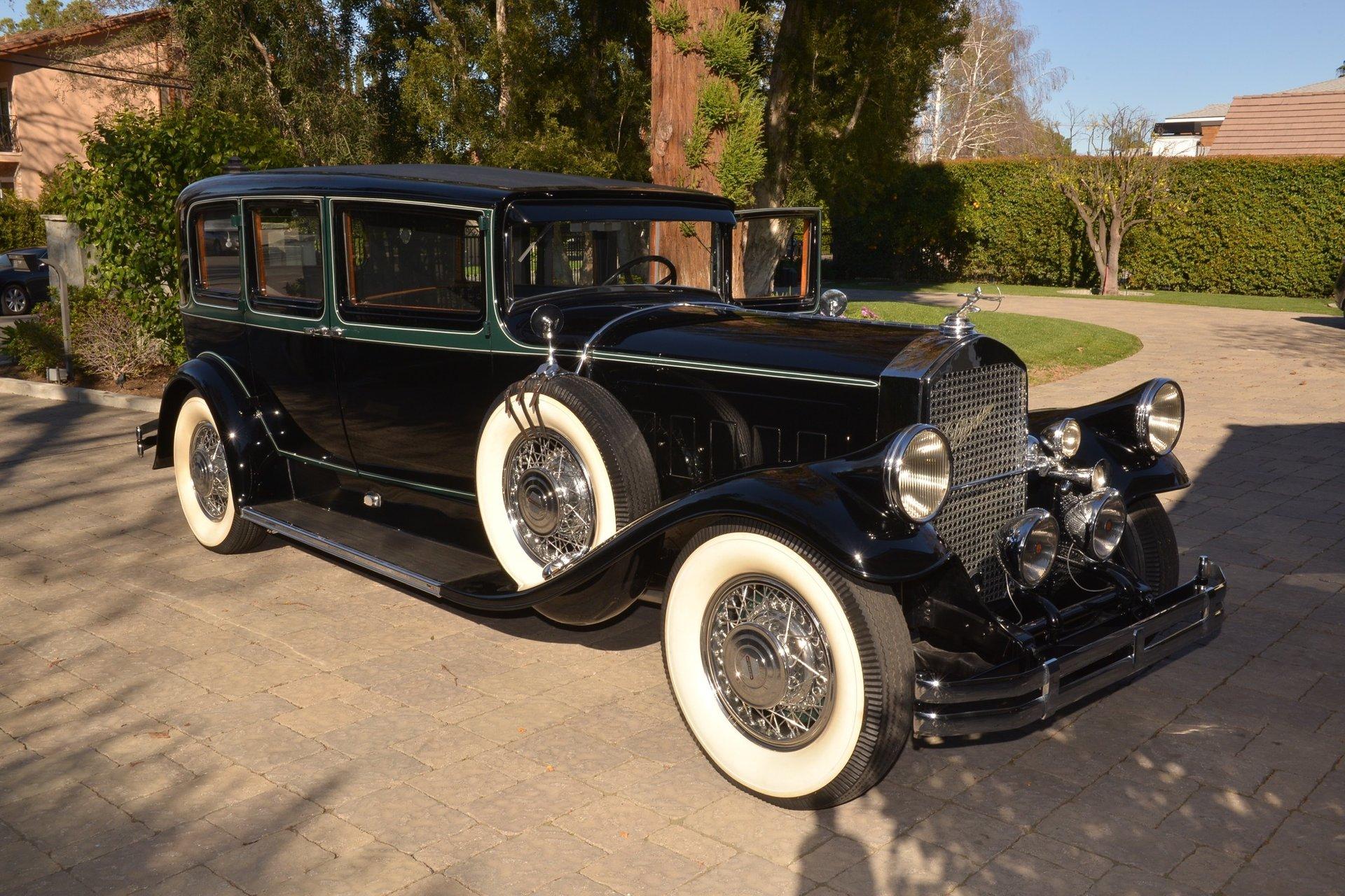 1929 pierce arrow model 126 enclosed drive 7p limousine