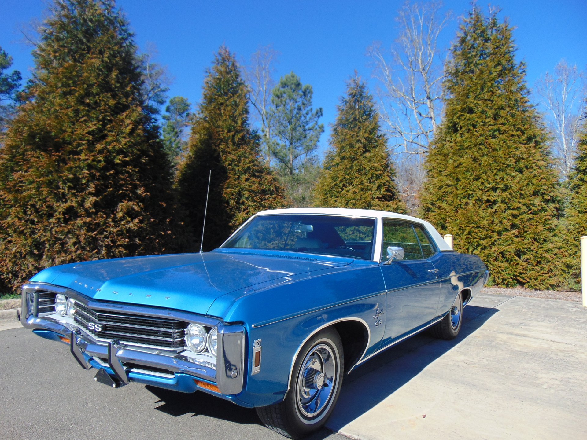 1969 chevrolet impala ss 427