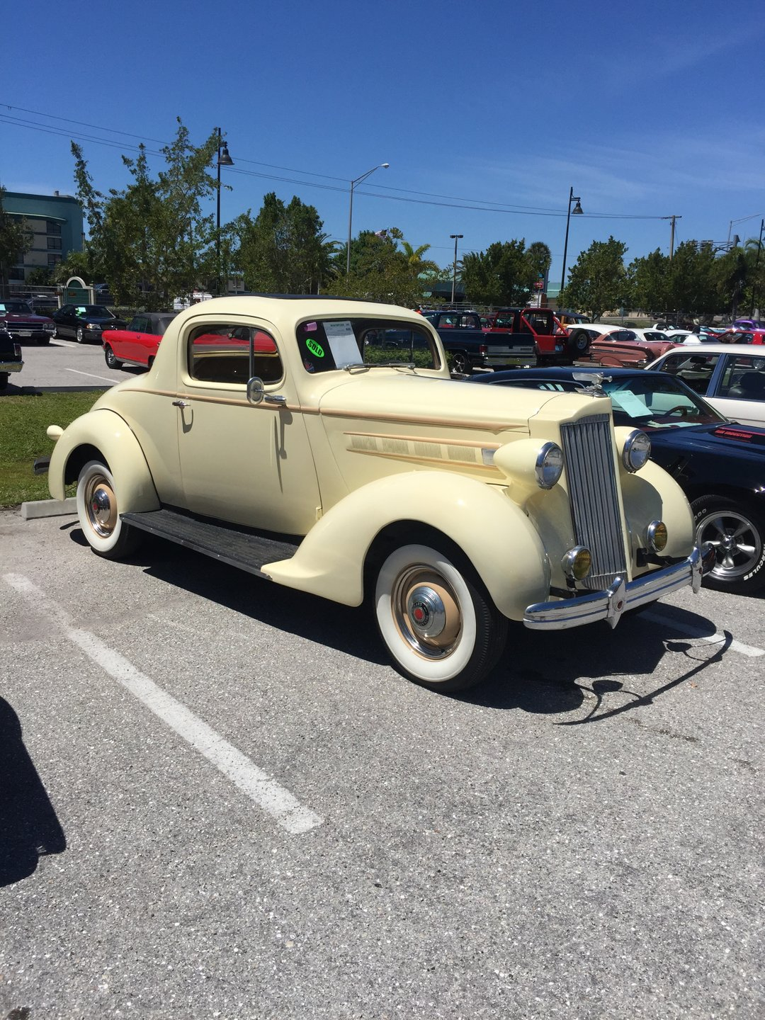 1937 packard 110 business coupe