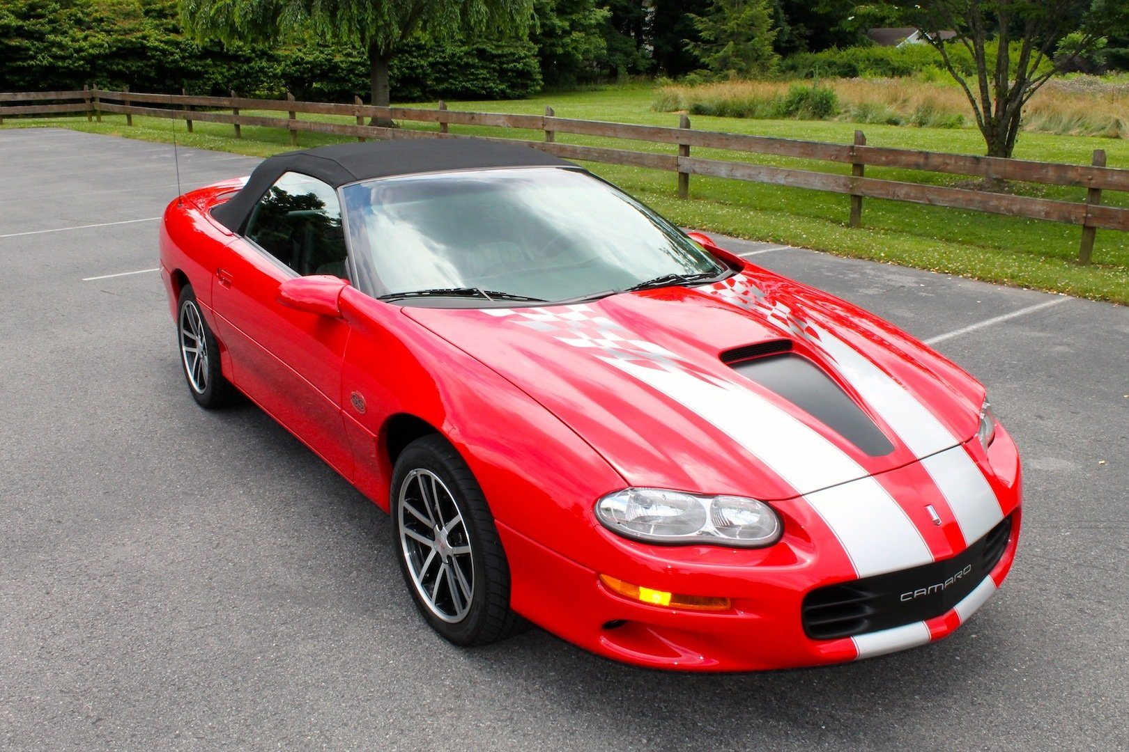 2002 chevrolet camaro z28 35th anniversary edt