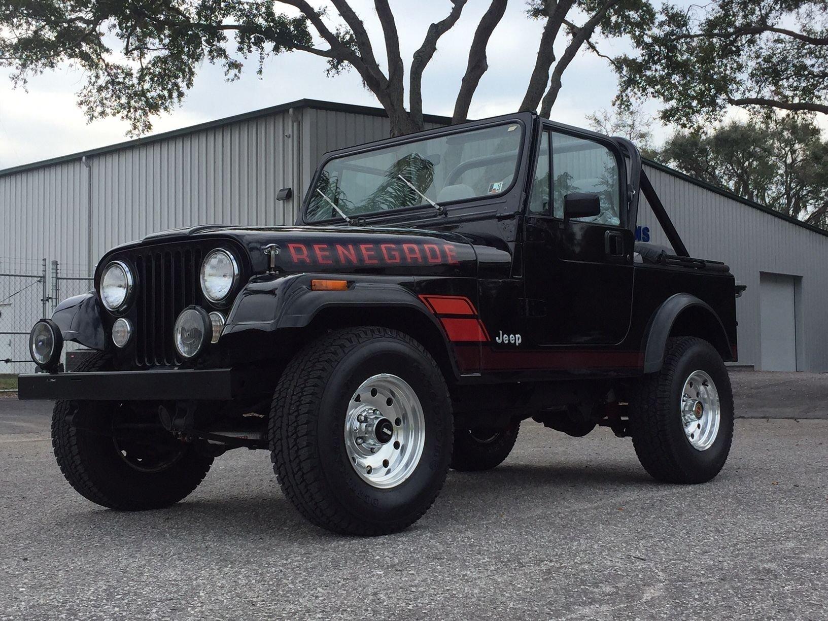 1983 amc jeep cj 7 4 x 4