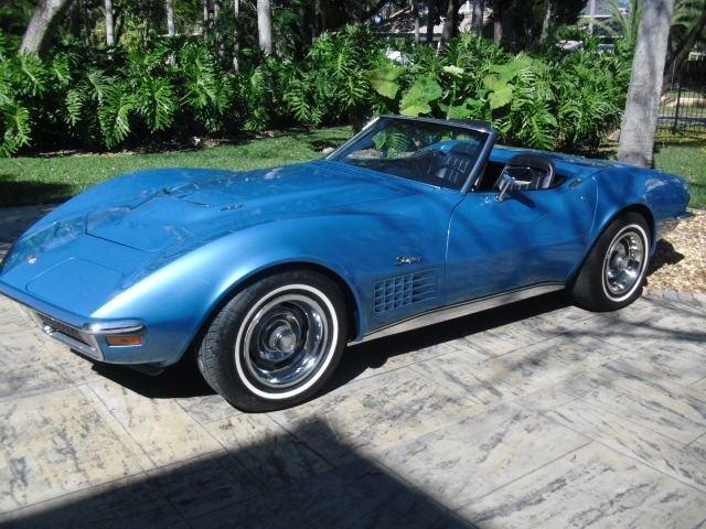 1970 chevrolet corvette 454