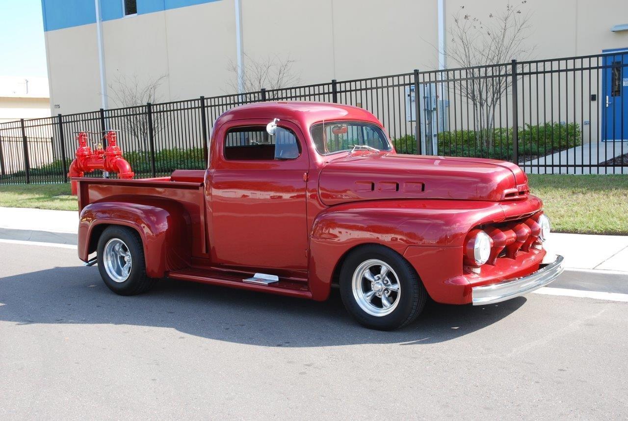 1951 ford f100 custom