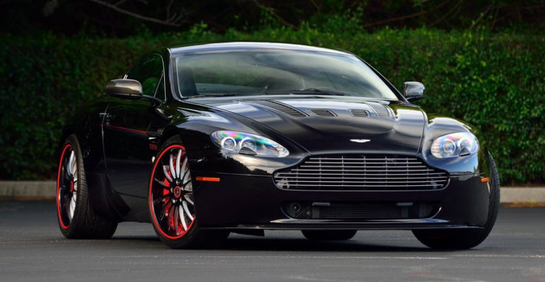 2007 aston martin supercharged vantage