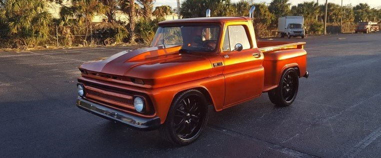 1965 chevrolet c10 shortbed stepside