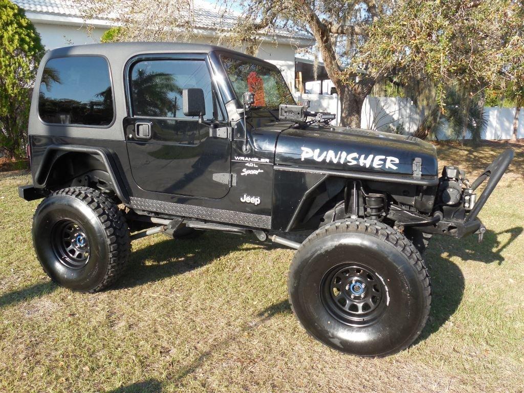 2001 jeep wrangler