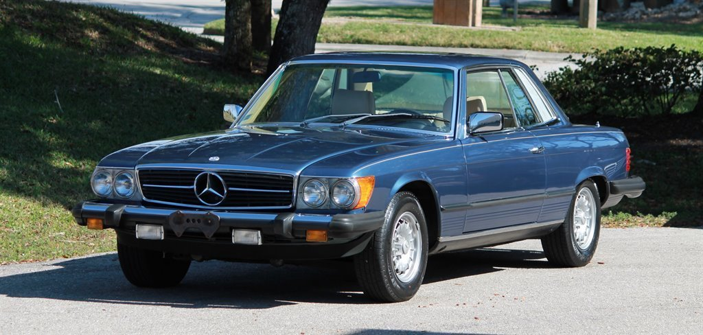 1980 mercedes benz 450 slc