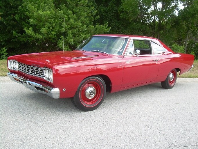1968 plymouth road runner hemi