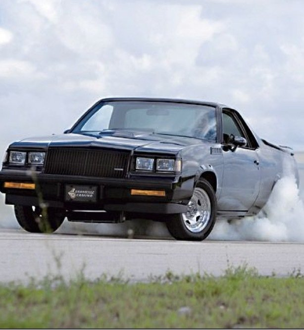 1984 chevrolet el camino grand national custom