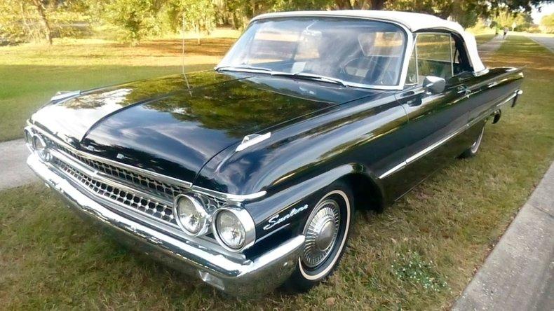 1961 Ford Sunliner For Sale