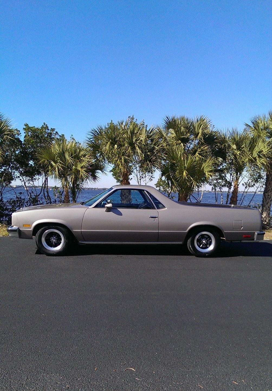 1984 chevrolet el camino pickup