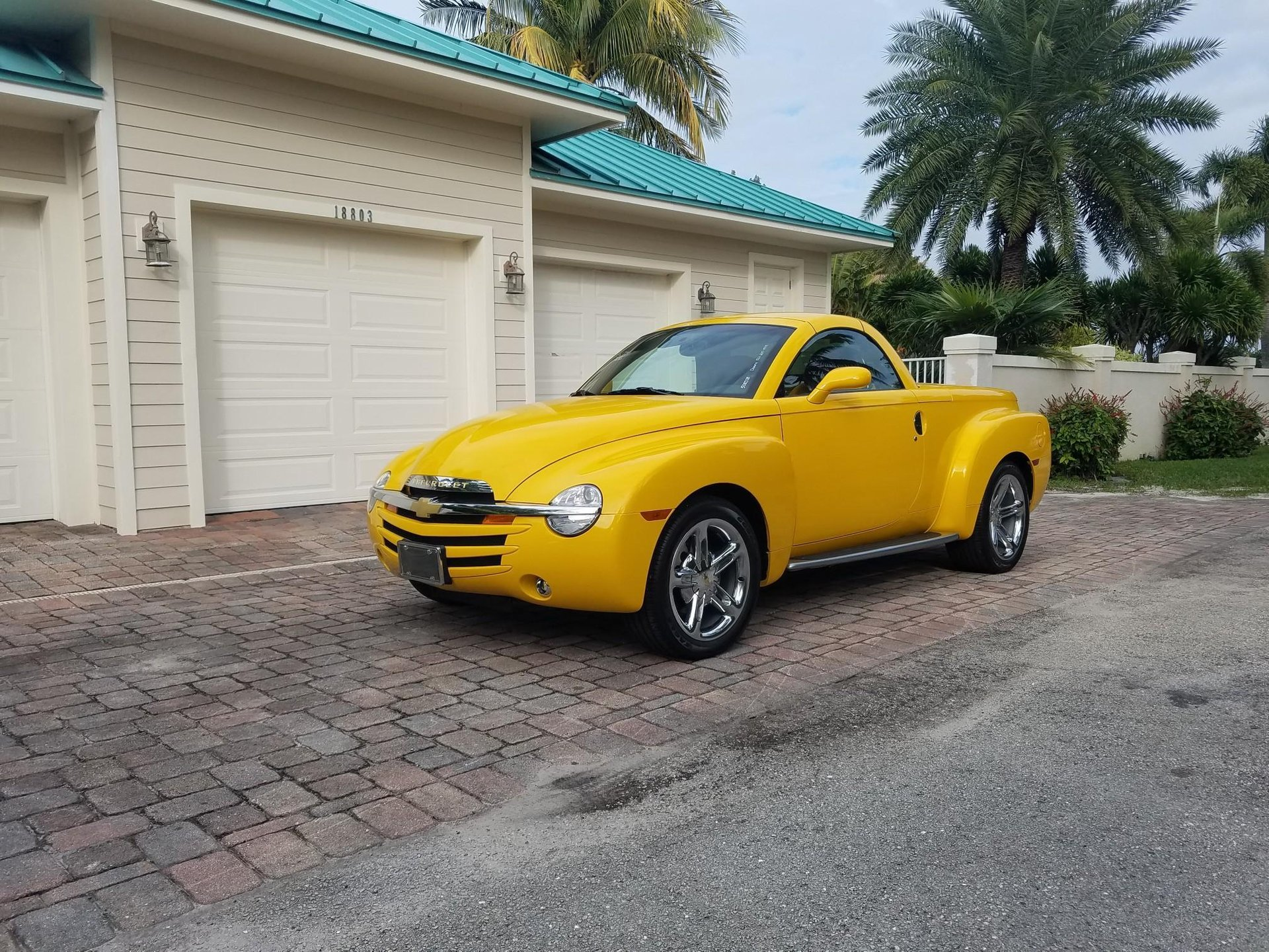2005 chevrolet ssr limited edition pickup