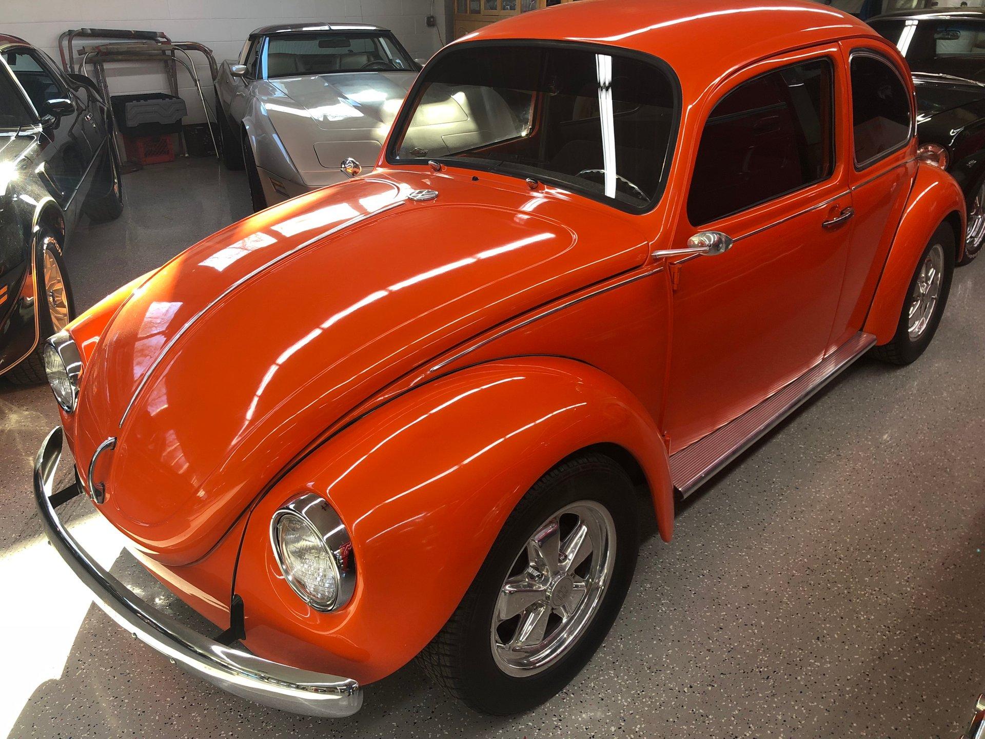 1972 volkswagen custom beetle coupe