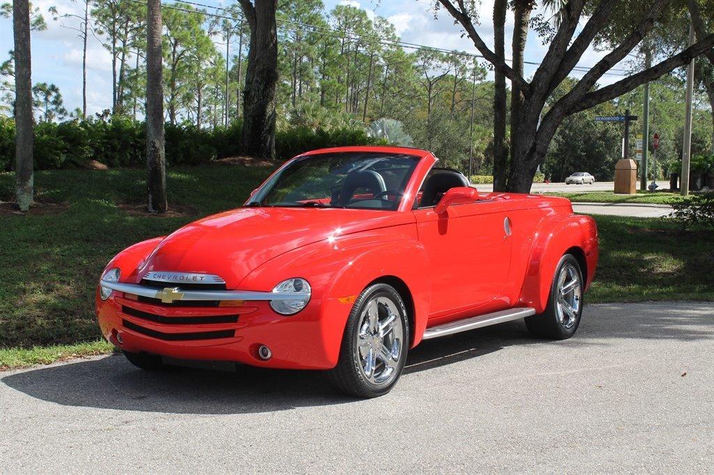 2005 chevrolet ssr pickup roadster