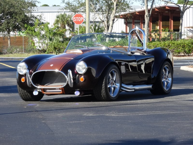 1965 factory five replica cobra roadster