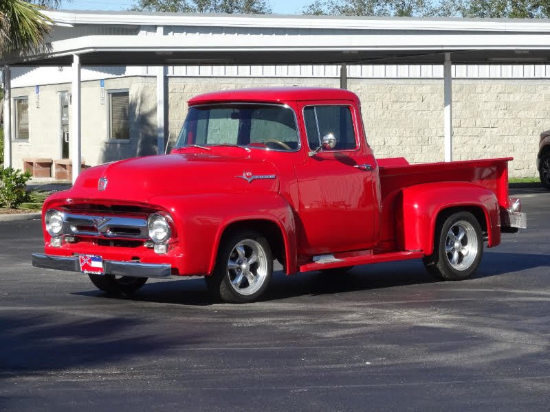1956 ford f100 stepside pickup