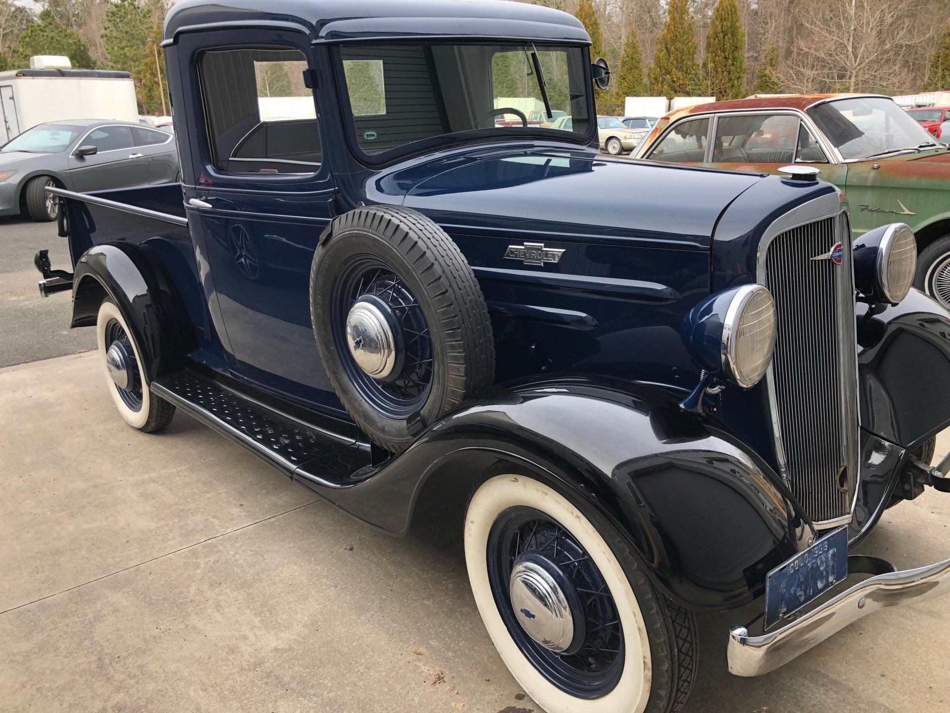 1936 chevrolet 1 2 ton pickup