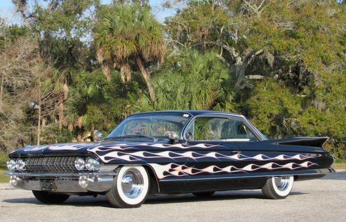 1961 cadillac series 62 custom coupe