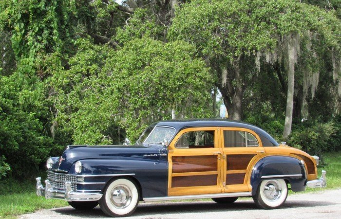 1948 chrysler town and country sedan