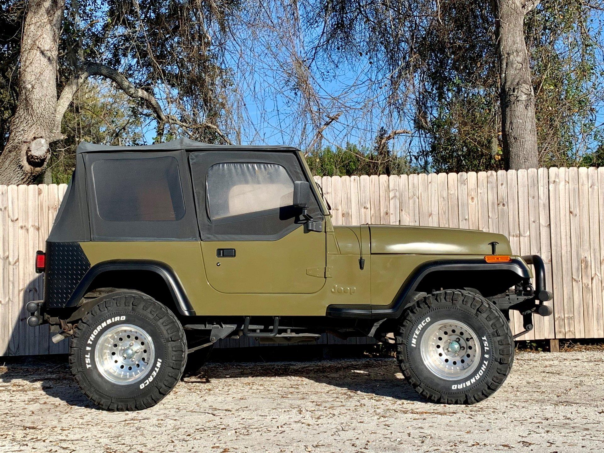 1993 jeep wrangler sport utility