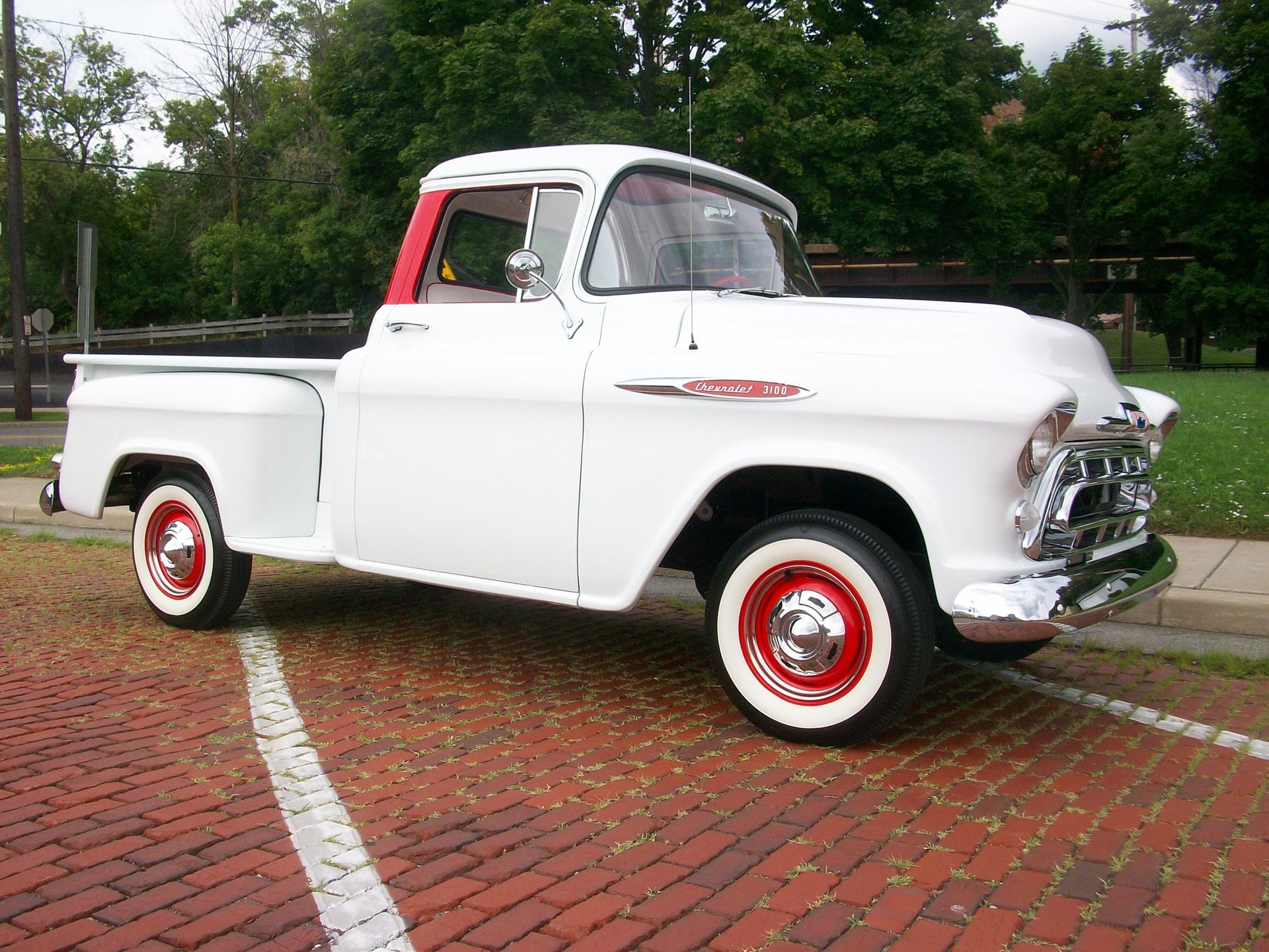 1957 chevrolet 3100 stepside shortbed pickup