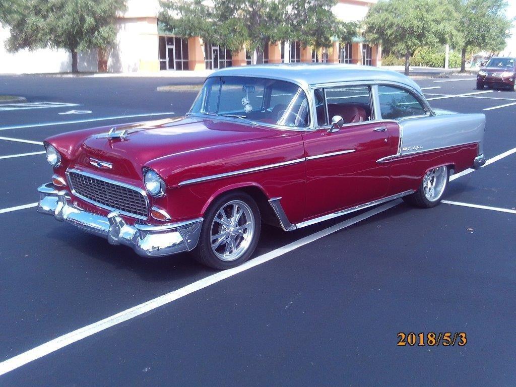 1955 chevrolet bel air custom sedan