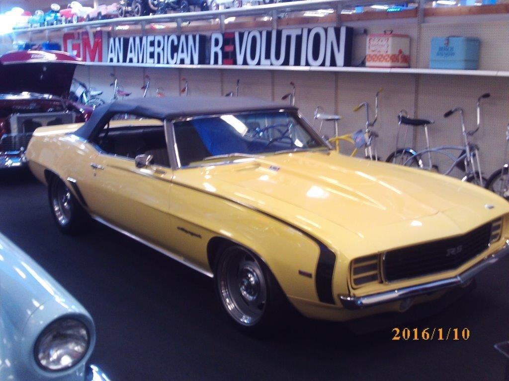 1969 chevrolet camaro rs restomod convertible