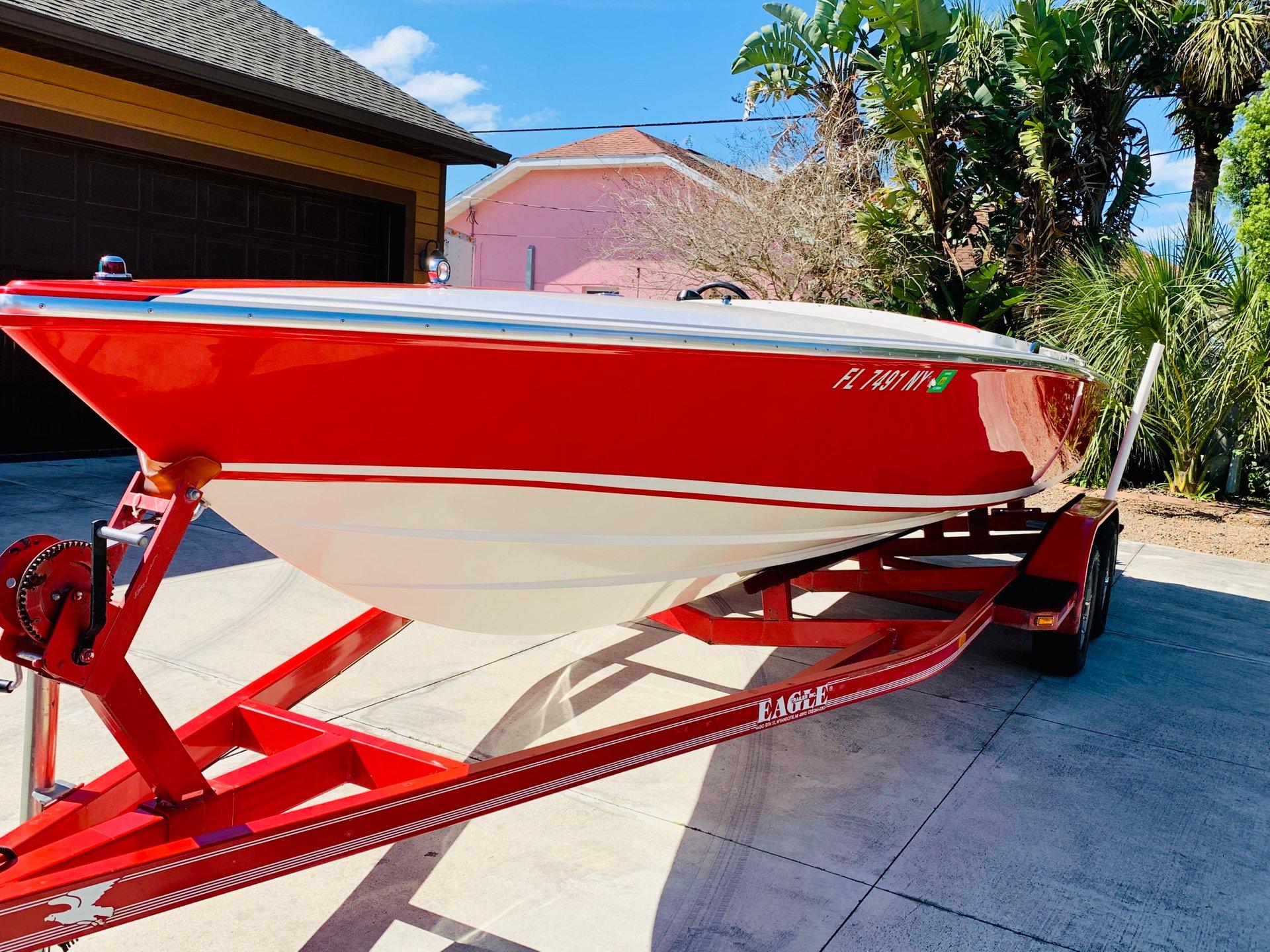 1987 donzi 22 classic boat