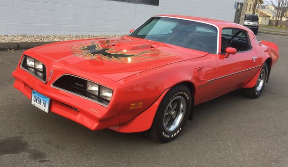 1978 pontiac trans am coupe