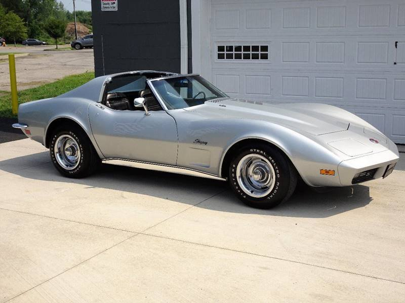 1973 chevrolet corvette 454 stingray coupe