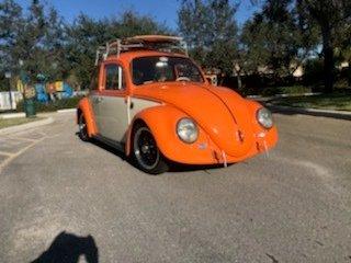 1966 volkswagen custom beetle