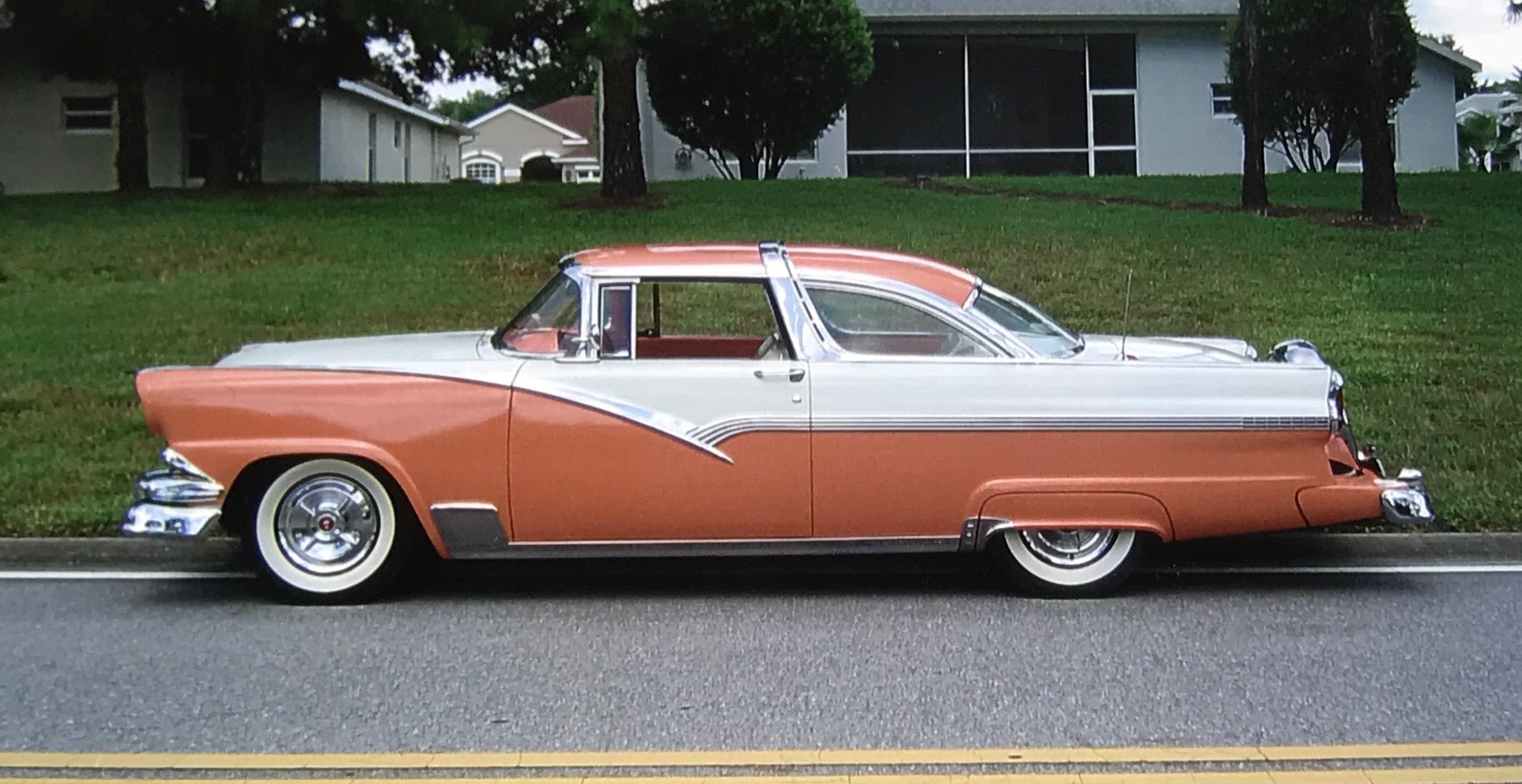 1955 ford crown victoria hardtop