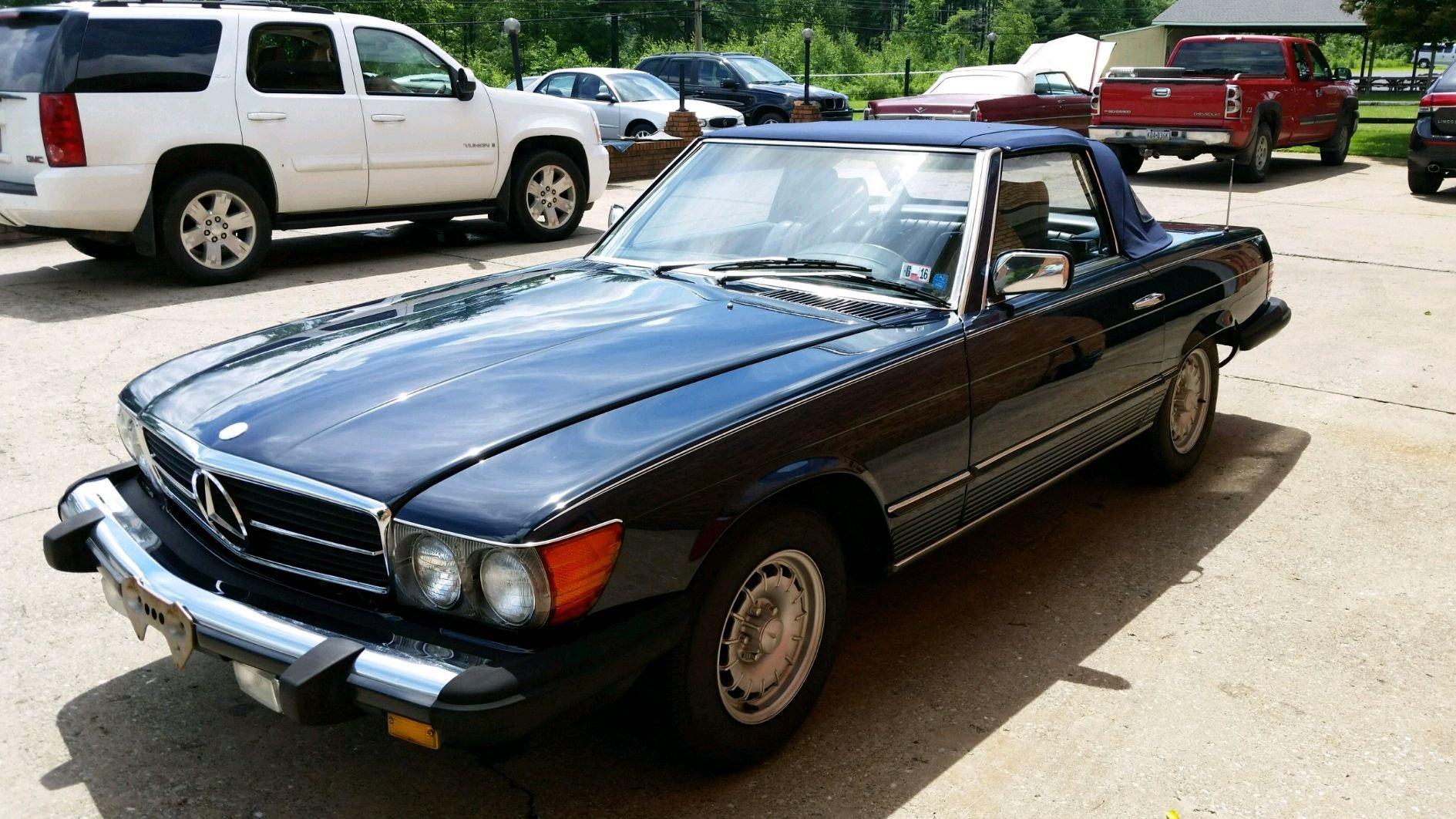 1984 mercedes benz 380sl roadster