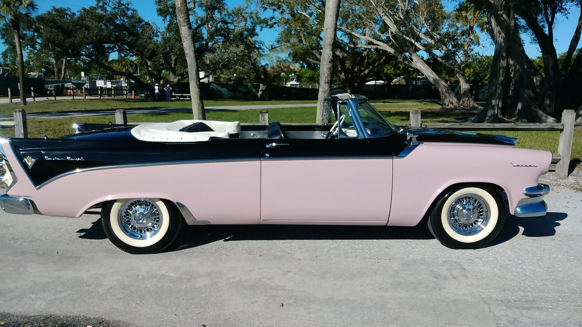 1956 dodge custom royal convertible