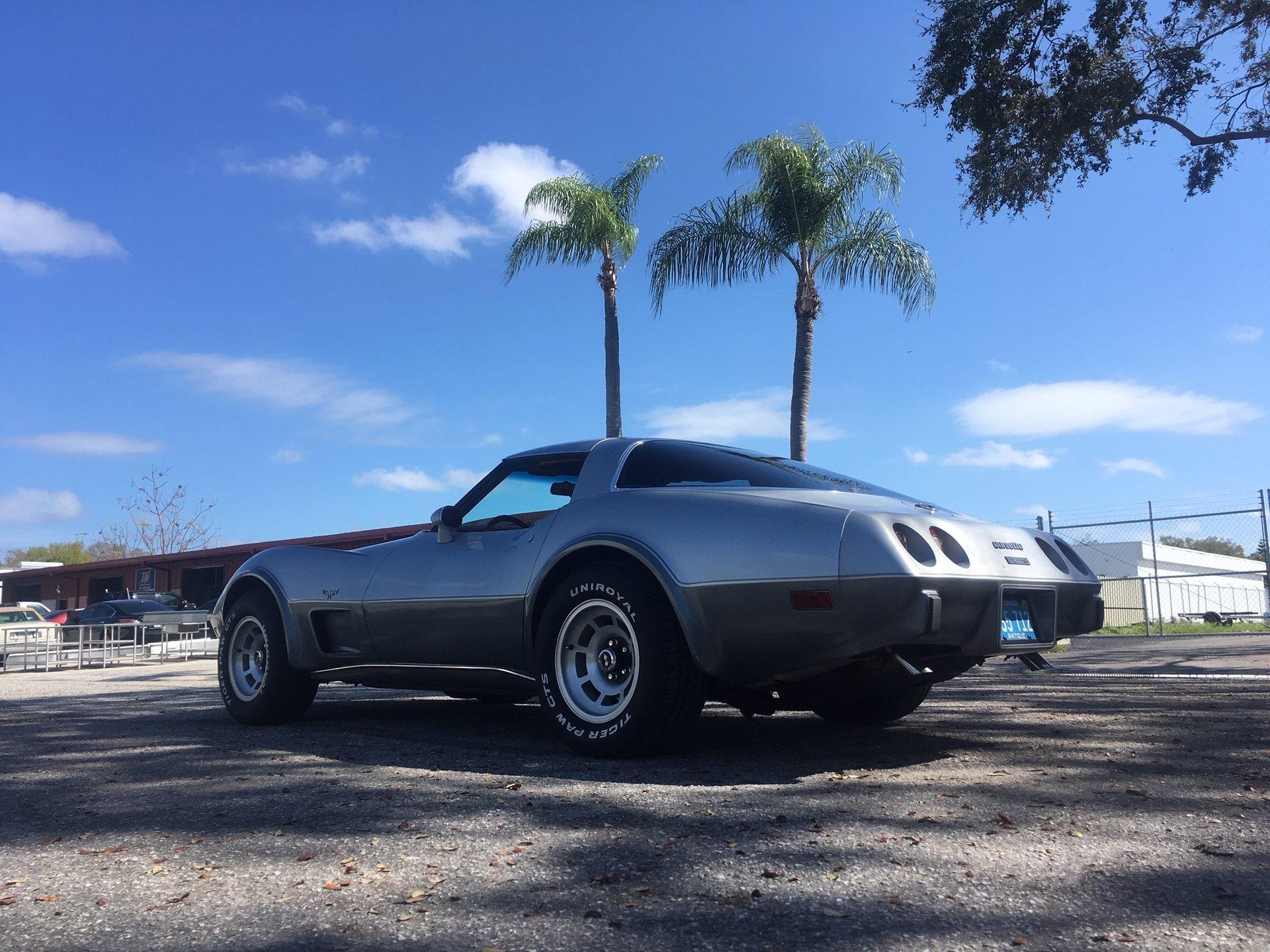 1978 chevrolet corvette t top coupe
