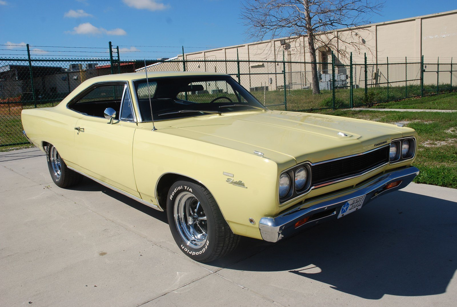 1968 plymouth satellite hardtop