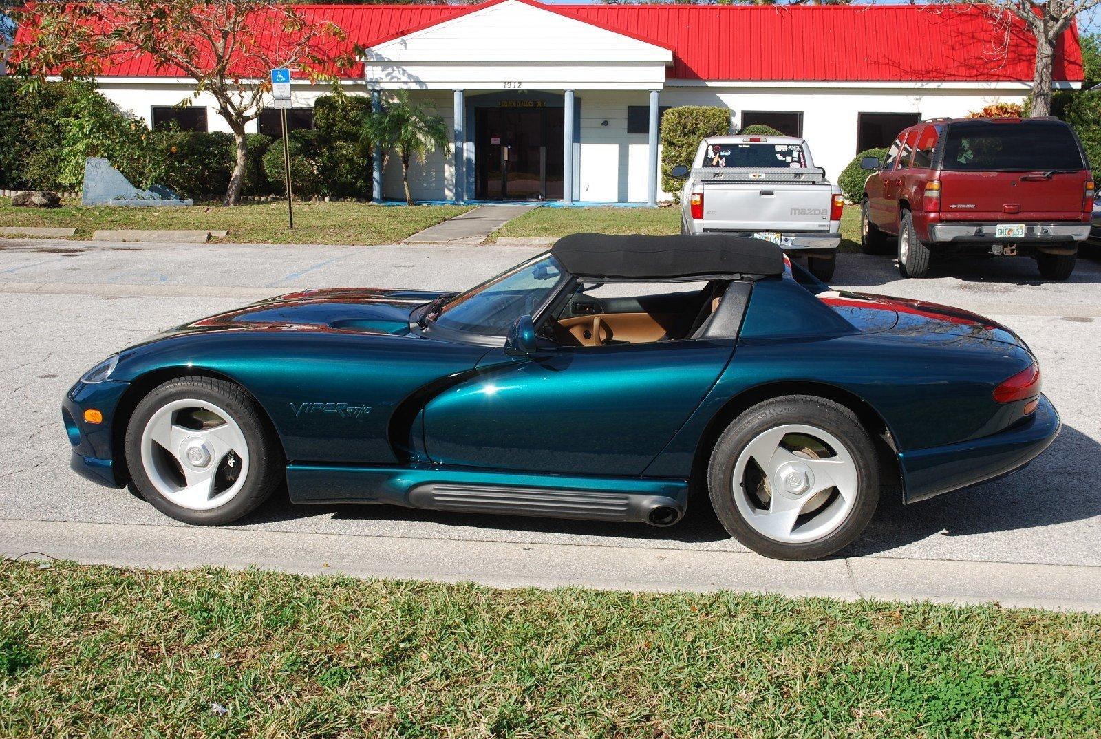 1995 dodge viper r t 10 roadster