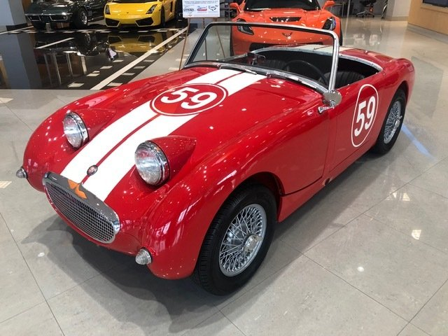 1959 austin healey sprite roadster