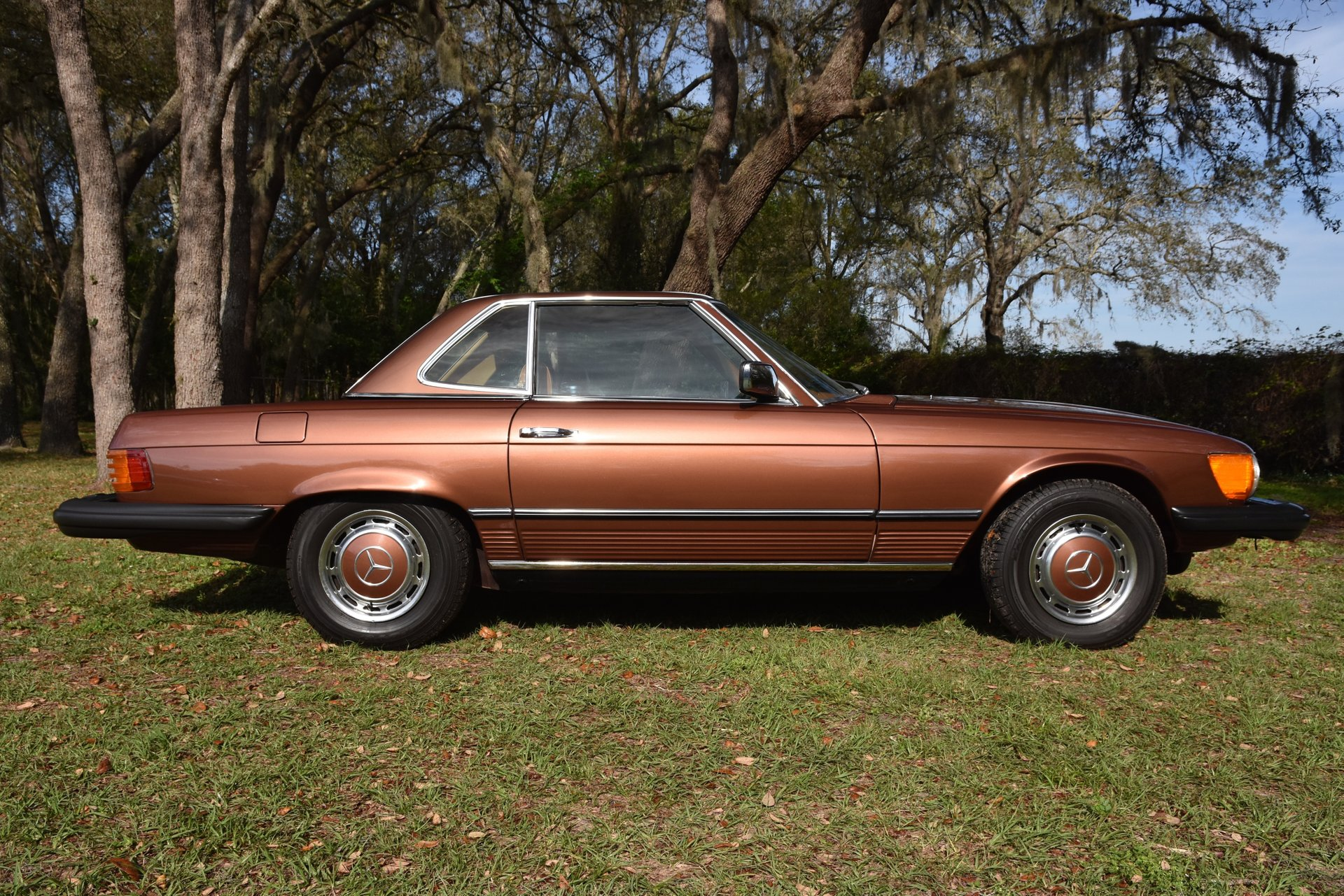 1977 mercedes benz 450sl roadster