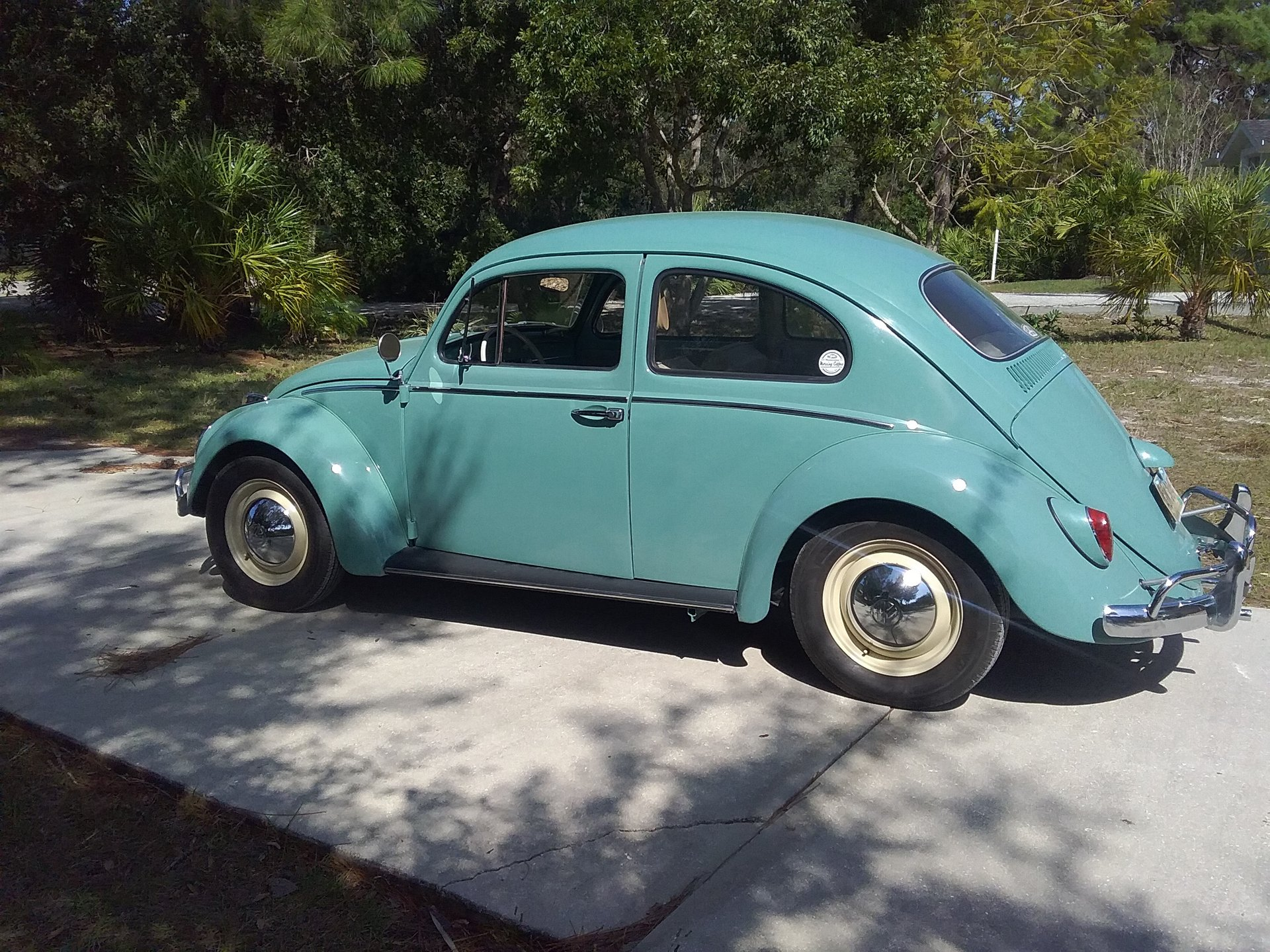 1963 volkswagen beetle sedan