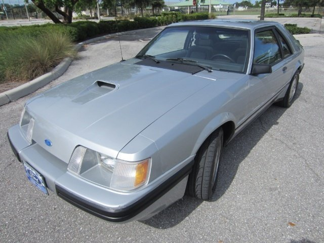 1984 Ford Mustang SVO Turbo