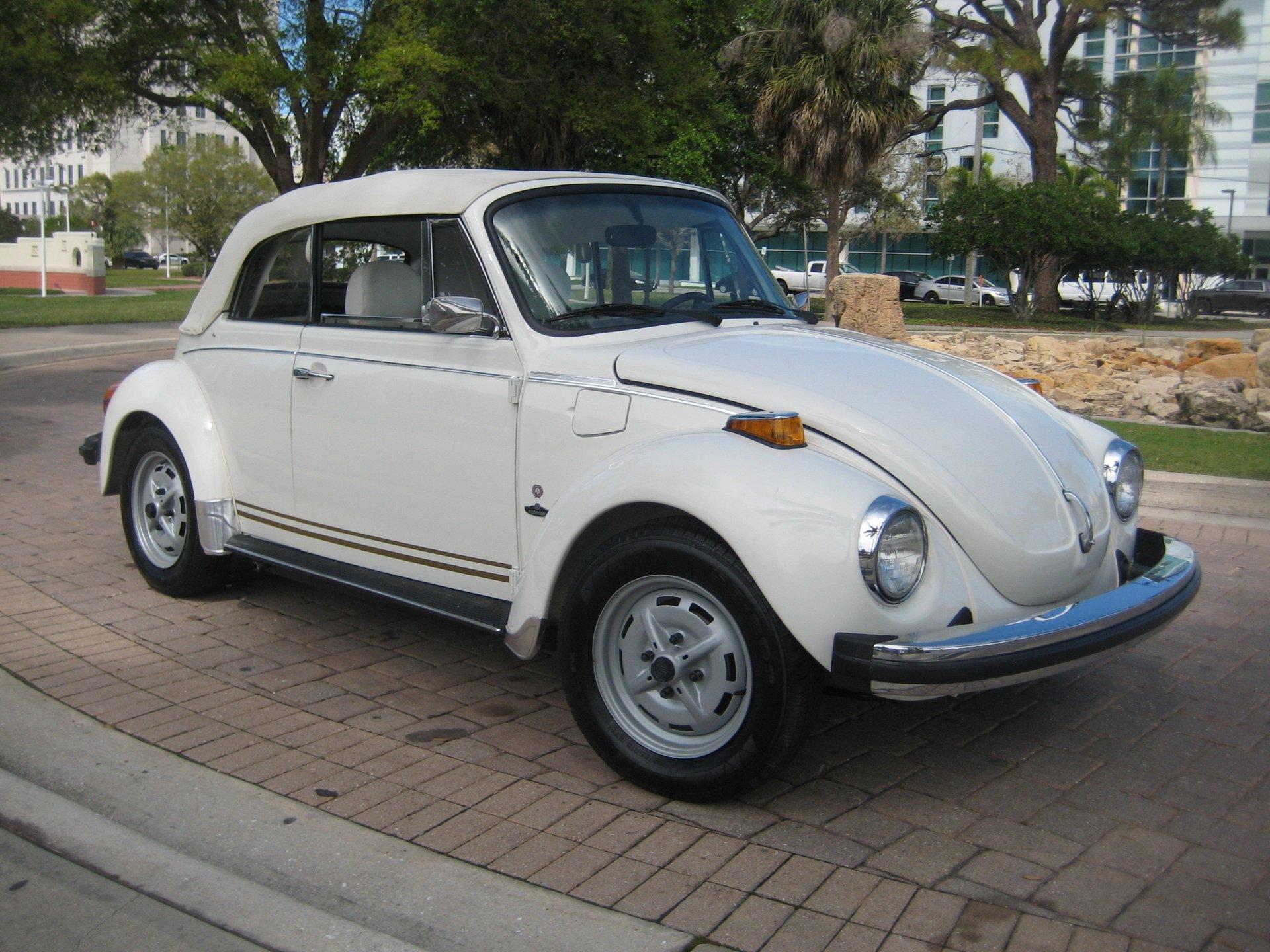 1977 volkswagen super beetle convertible