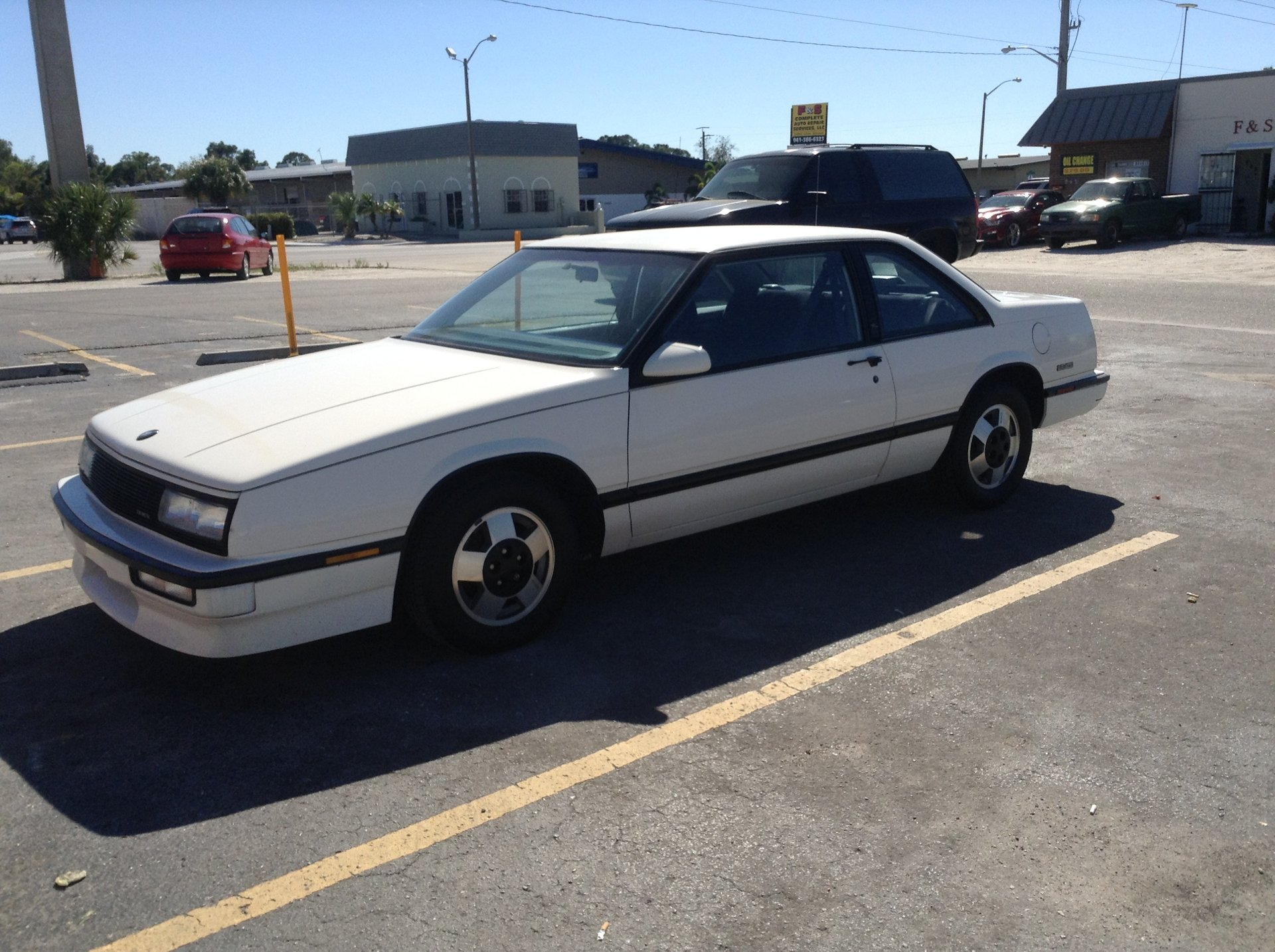1988 buick lesabre t type coupe