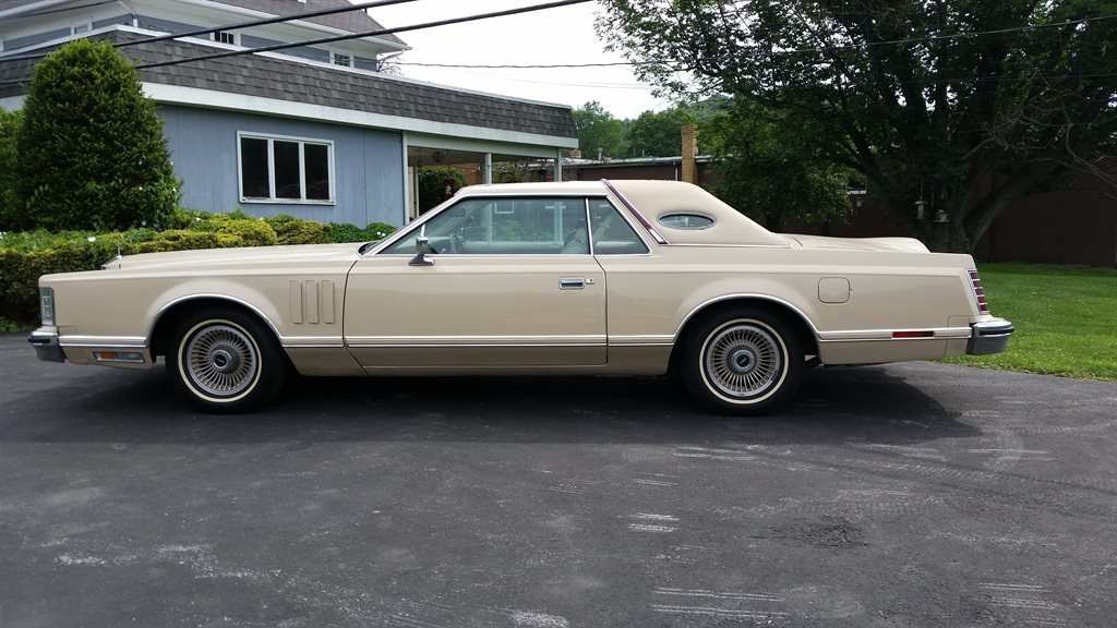 1979 lincoln mark v coupe