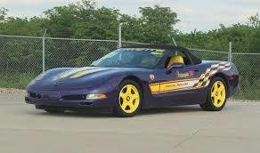 1998 chevrolet corvette indy pace car convertible