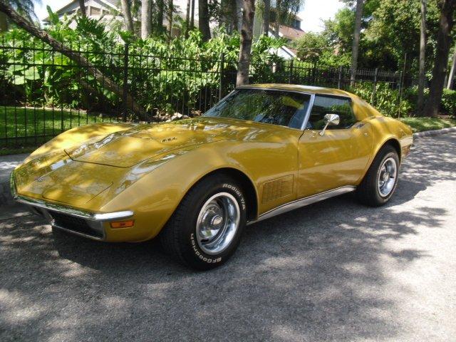 1971 chevrolet corvette coupe