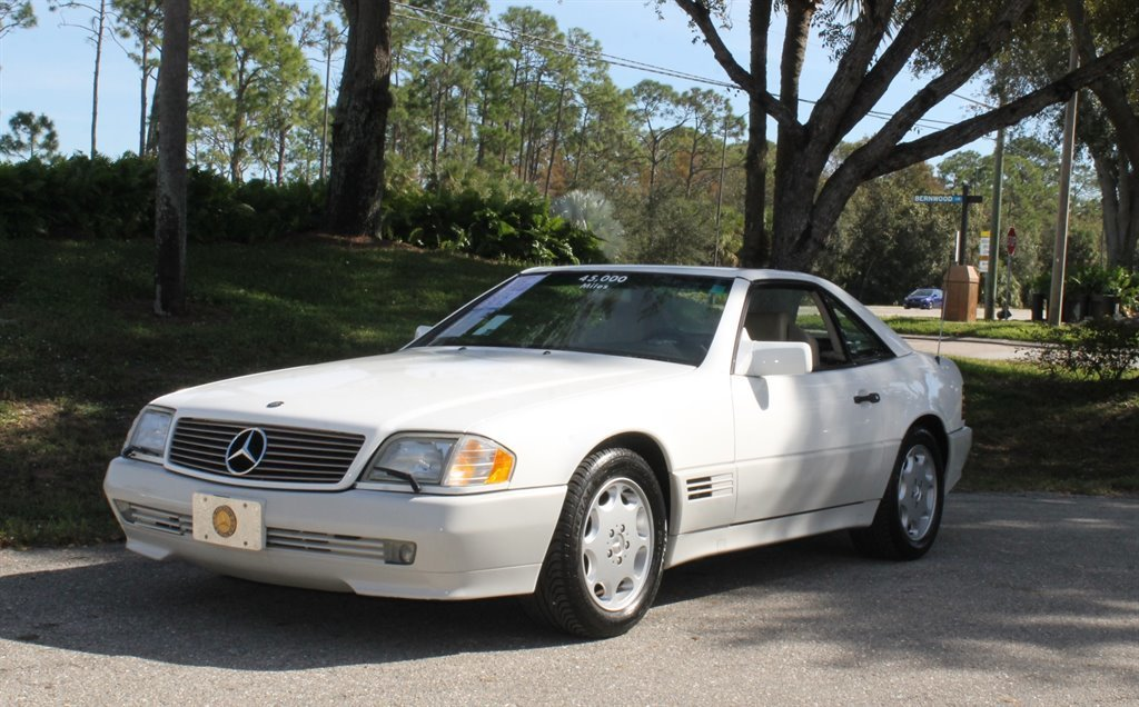 1995 mercedes benz sl 320 convertible