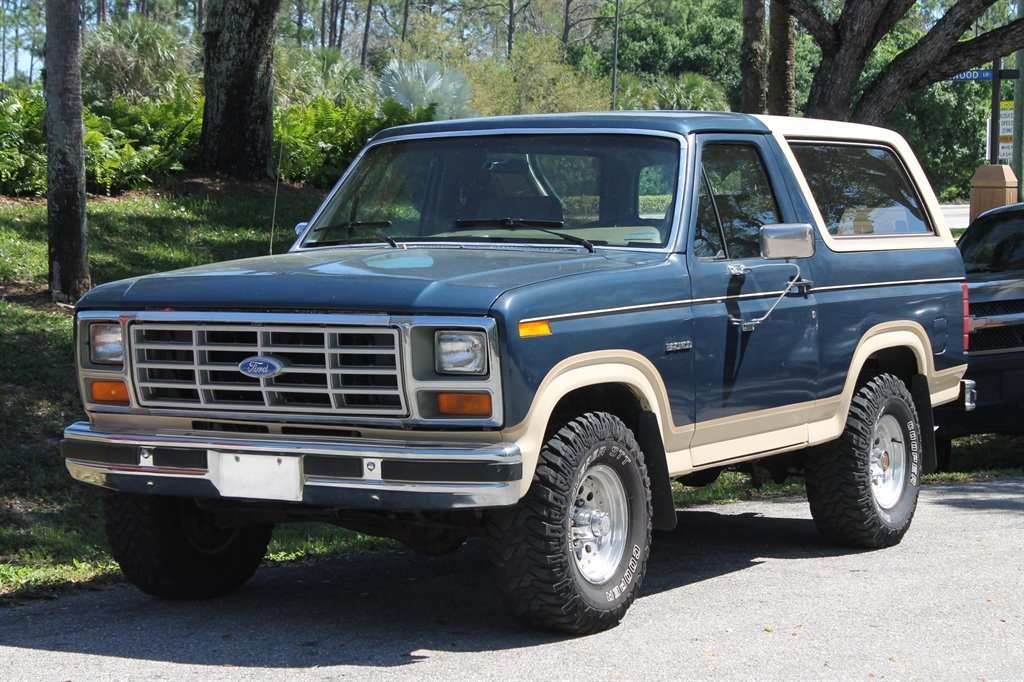 1986 ford bronco 4 x 4
